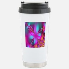 fractal-flowers2-shower Travel Mug