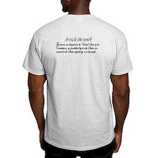 Bill of Rights/10th Amendment T-Shirt