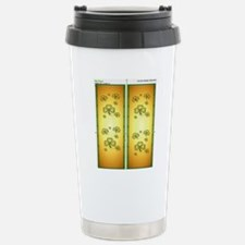 Flip FlopsGold and Gree Stainless Steel Travel Mug