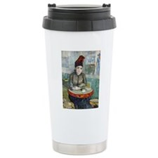 iPad VG In the cafe Thermos Mug