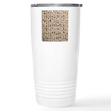 matzoh, thong, 2x Travel Coffee Mug
