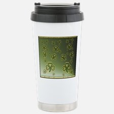 King Duve Gold and Gree Stainless Steel Travel Mug