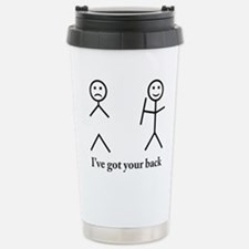 i got your back cu ochi Thermos Mug