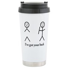 i got your back cu ochi Travel Mug