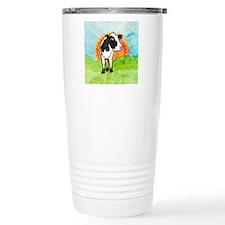 squareDairyCow Travel Coffee Mug