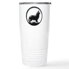 plastic wolf Travel Mug