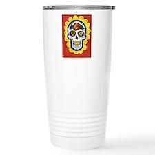 Love Sugar Skull Thermos Mug