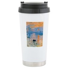 iPadS Monet Sunrise Travel Mug