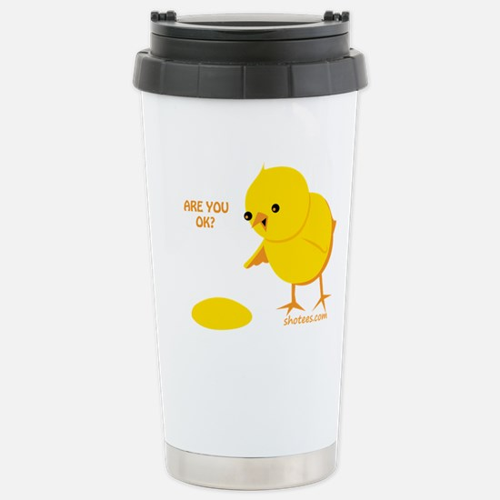 Are you ok? Stainless Steel Travel Mug