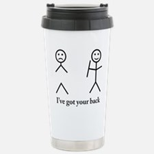 i got your back cu ochi Stainless Steel Travel Mug