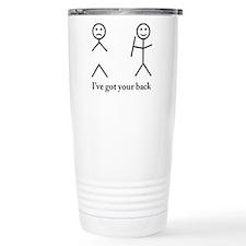 i got your back cu ochi Travel Mug