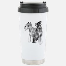 schnauzers Stainless Steel Travel Mug
