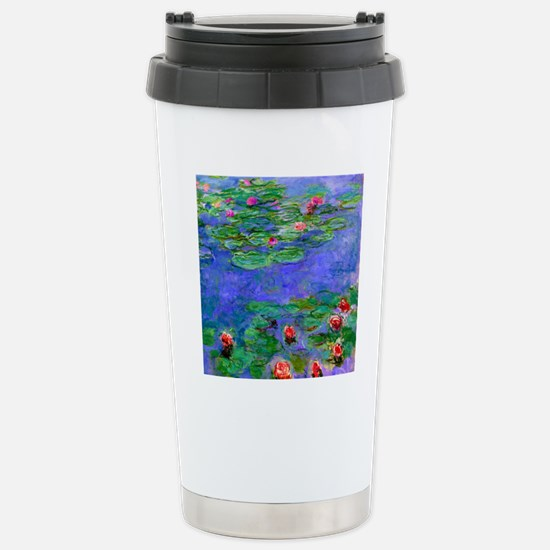 Pillow Monet WLRed Stainless Steel Travel Mug