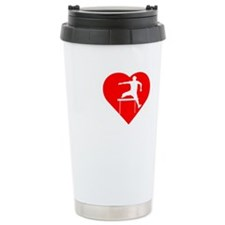 I-Heart-Track2 Travel Mug