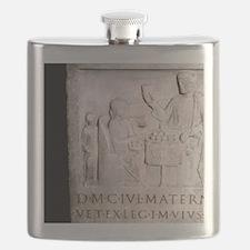 A Roman family. Roman period. Flask