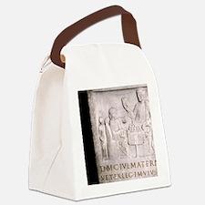 A Roman family. Roman period. Canvas Lunch Bag