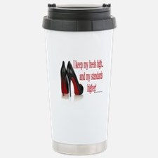 High Standards Stainless Steel Travel Mug