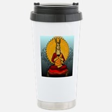 DHALAI-LLAMA-THROW-PILL Travel Mug