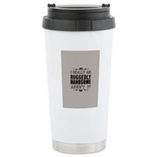 castle_handsome_solid3 Travel Mug