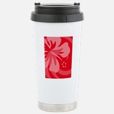 Red-Twin Stainless Steel Travel Mug