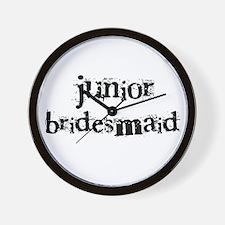 Junior Bridesmaid Wall Clock