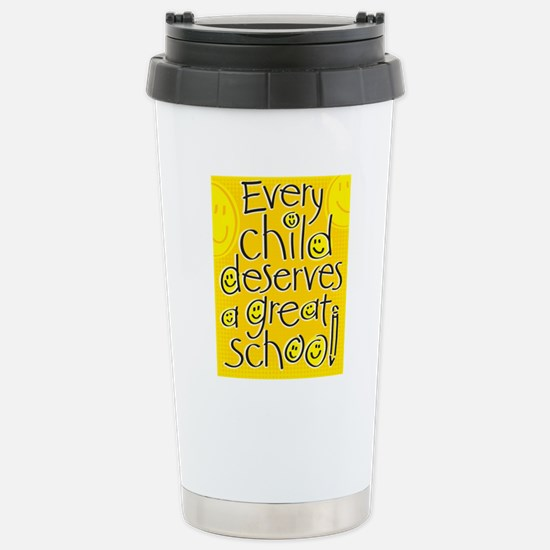 EveryChildPoster16x20 Stainless Steel Travel Mug