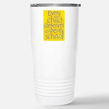 EveryChildPoster16x20 Travel Mug