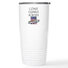 Coast Guard Always Travel Mug