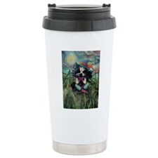 Kitten Witch Halloween Travel Mug