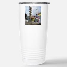 rehoboth beach pixels 4 Stainless Steel Travel Mug