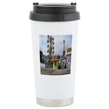 rehoboth beach pixels 4 Travel Mug