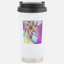 Lavender shower curtain Travel Mug