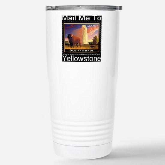 mailmeto_yellowstone_re Stainless Steel Travel Mug