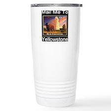 mailmeto_yellowstone_re Travel Coffee Mug
