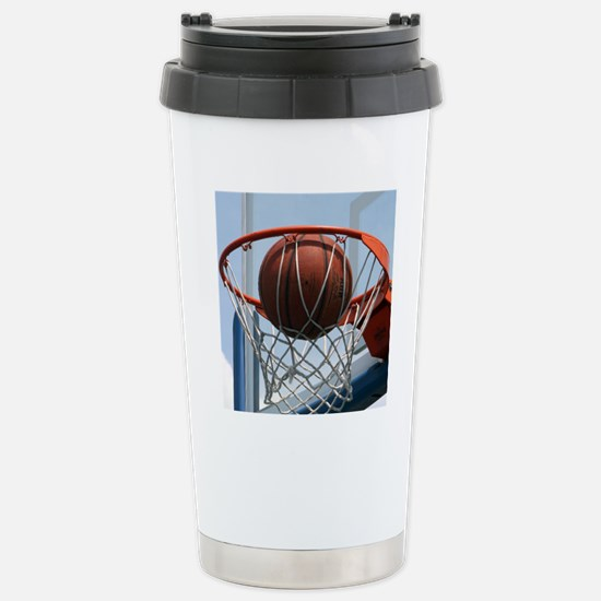 baskertball Stainless Steel Travel Mug