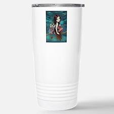 Autumn Owl and Fairy Travel Mug