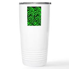 flipflopsgrntigerpng Travel Coffee Mug
