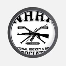 National hockey and rifle assn Wall Clock
