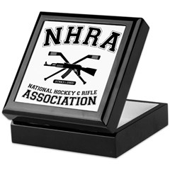 National hockey and rifle assn Keepsake Box