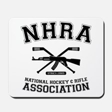 National hockey and rifle assn Mousepad