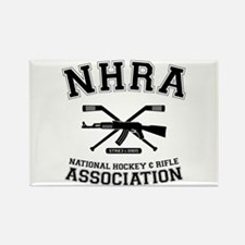 National hockey and rifle assn Rectangle Magnet