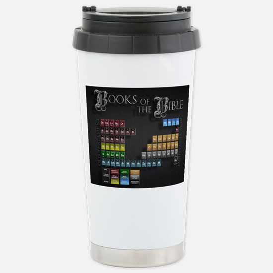 books of the bible 14x1 Stainless Steel Travel Mug