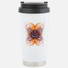 shiva on fractal-borsa  Stainless Steel Travel Mug