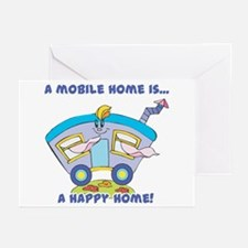Mobile Home (Trailer) is a Happy Home Greeting Ca
