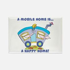 Mobile Home (Trailer) is a Happy Home Rectangle M