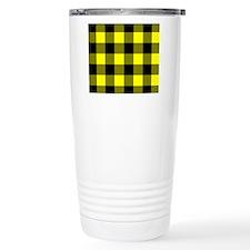 stadiumblanketyelocheck Travel Coffee Mug
