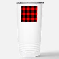 stadiumblanketredchecke Travel Mug