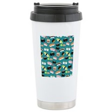 sushishowercurtain Travel Mug