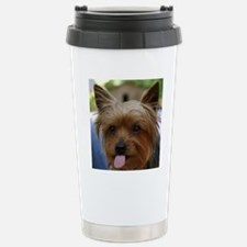 FunnyYorkieShower Travel Mug