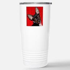ToyFoxTerrierShower1 Stainless Steel Travel Mug